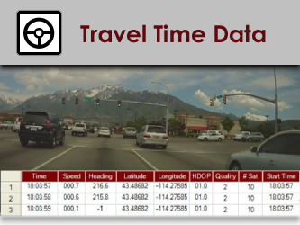Travel Time Data